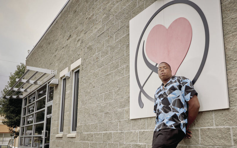 """Louis """"Big Lou"""" Parker is a mainstay at the Heart Ministry Center"""