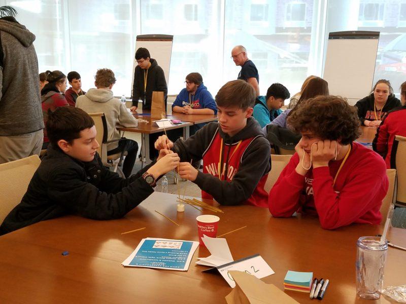 Students practice Agile project management