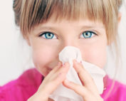 child with an allergy