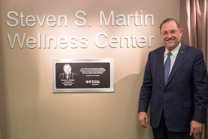 Wellness Center named for CEO Emeritus Steven S. Martin