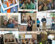 Collage of photos from BCBSNE YP Summit