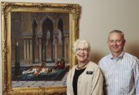 Sharon Martin and Mike Hughbanks at Joslyn Art Museum.