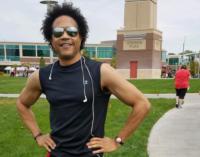 Sidewalk marathoner, Garry Floyd