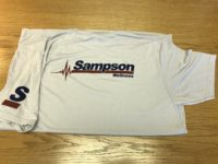 Sampson Construction employee wellness program t-shirt
