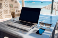 Stay cyber secure during spring getaway