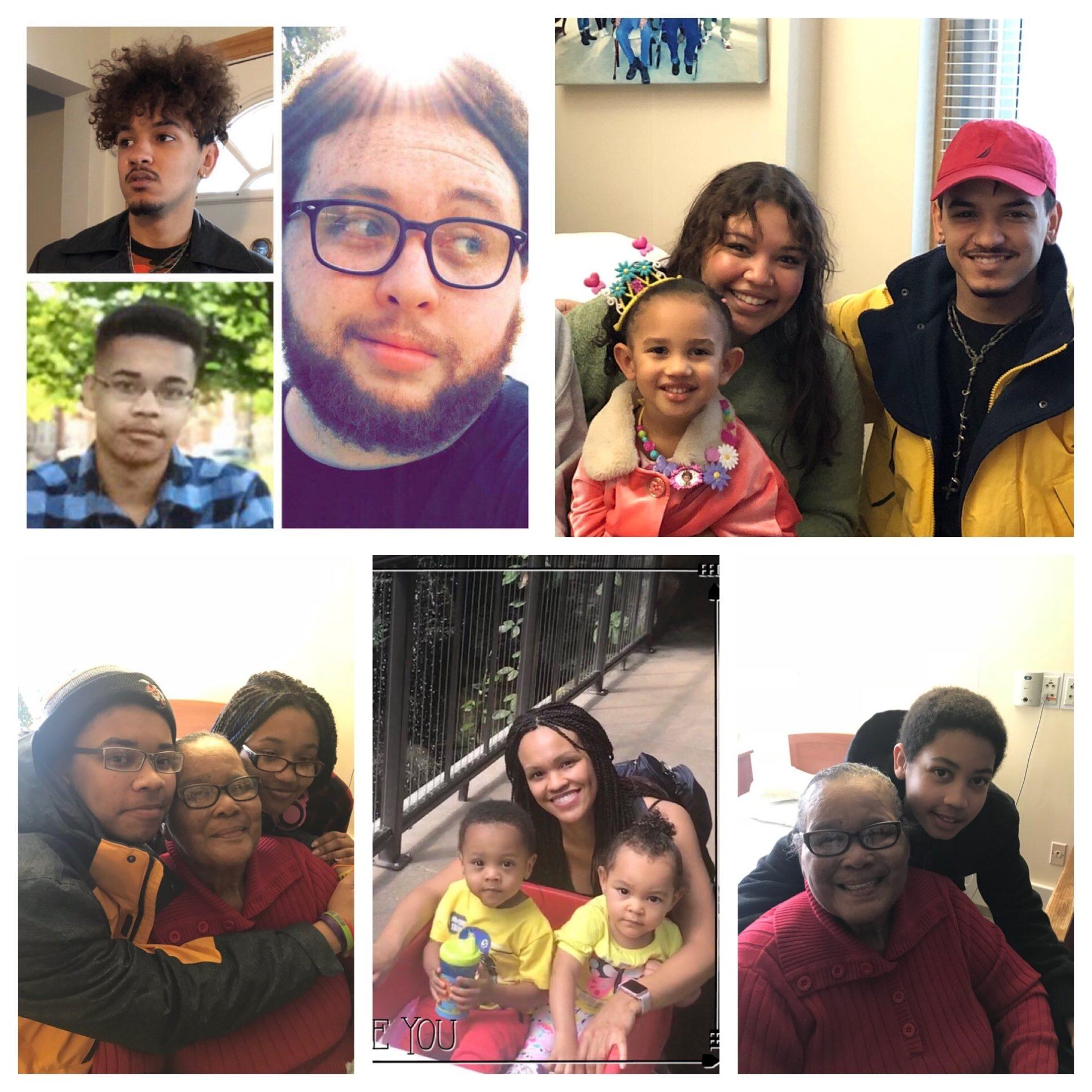 Smith's grandchildren: Jordyn, Kieran, Trey, Madelyn, Lauren, Orianna, Kaiden, Savannah and Ian